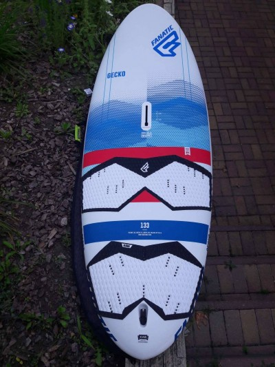 Fanatic Gecko HRS 133 (2018) windsurf deszka WINDSURF DESZKA